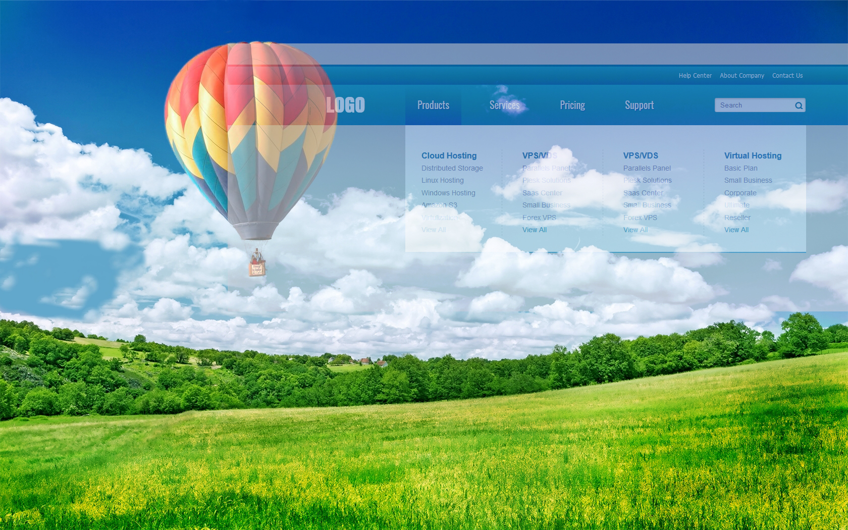 balloon-in-sky-desktop-wallpapers