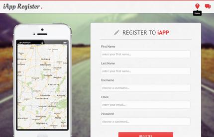 responsive-register-template