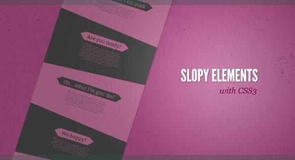 SlopyElements1