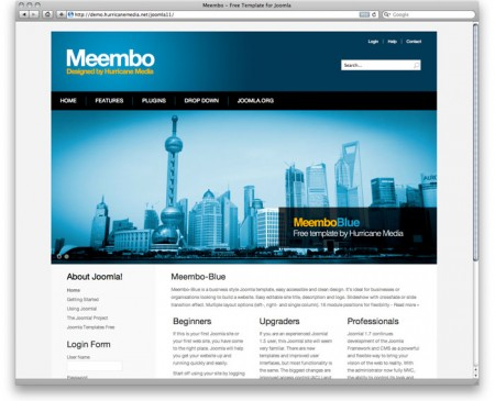 best-free-joomla-2-5-templates-july-2013-meembo-blue-450x365