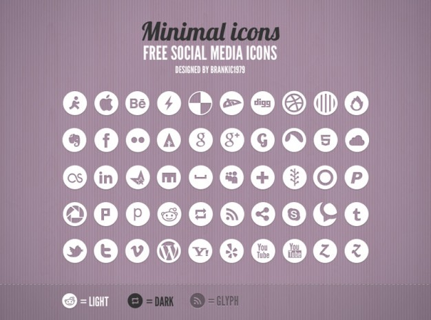 minimal-grey-social-media-icons-rounded_280-13686337223605