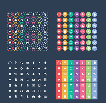 Flat-Icon-Set