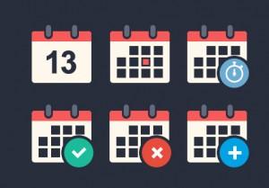 Flat-Calendar-Icon