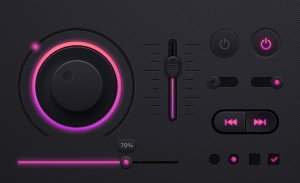 Music-player-UI-kit