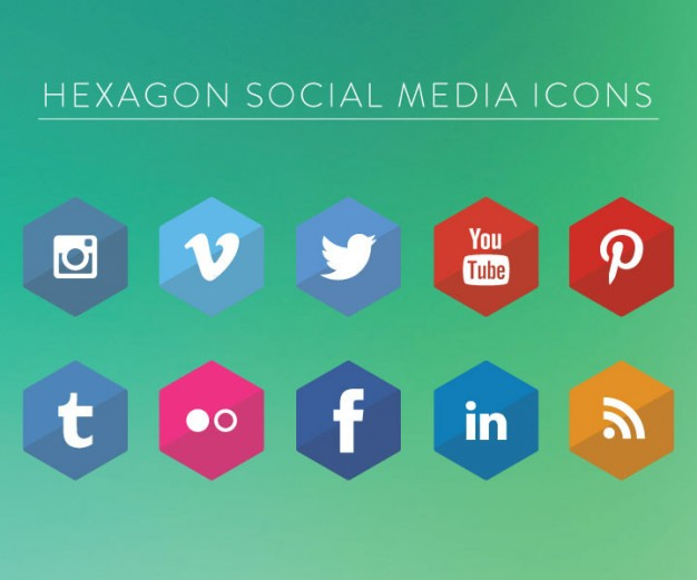 social-media-icons-design-in-hexagon_388-69