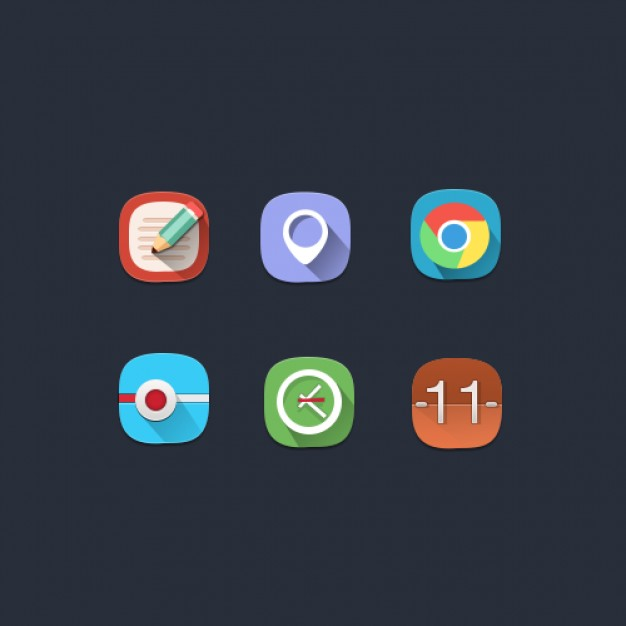 shadow-flat-rounded-icons_304-666