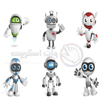 Robot-Vector-Character