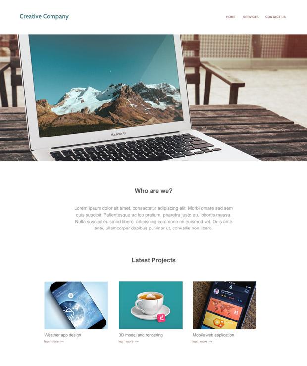 creative_company_template_screenshot