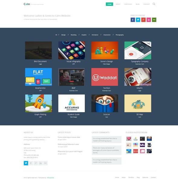 Calm-Website