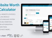 ارزیابی و تخمین قیمت وب سایت با اسکریپت Website Worth Calculator