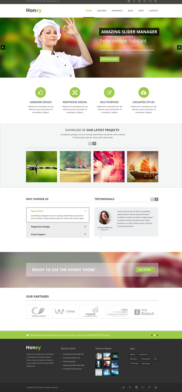 Homepage copy