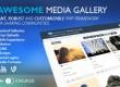 ایجاد شبکه اجتماعی چندرسانه ای با اسکریپت Awesome Media Gallery