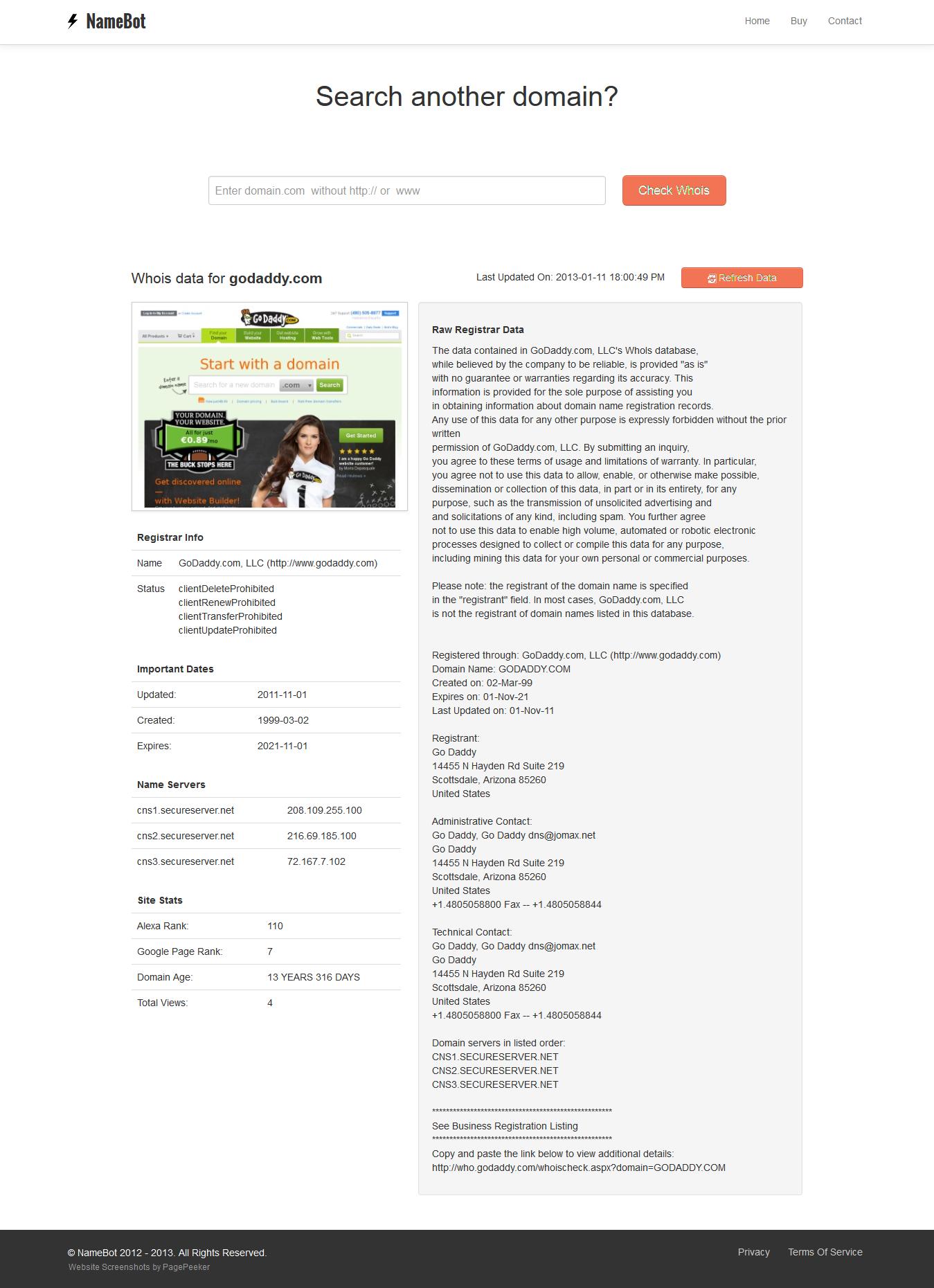 NameBot-screenshot-result