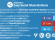 افزونه وردپرس اشتراک گذاری حرفه ای Easy Social Share Buttons