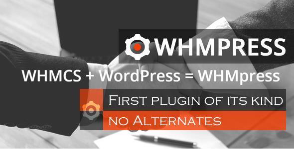 یک پارچه سازی وردپرس با whmcs توسط افزونه WHMpress نسخه 1.8.1
