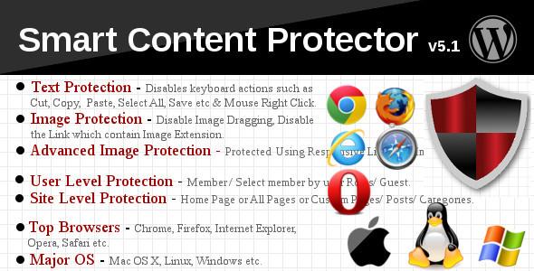 افزونه وردپرس هوشمند جلوگیری از کپی مطالب شما Smart Content Protector