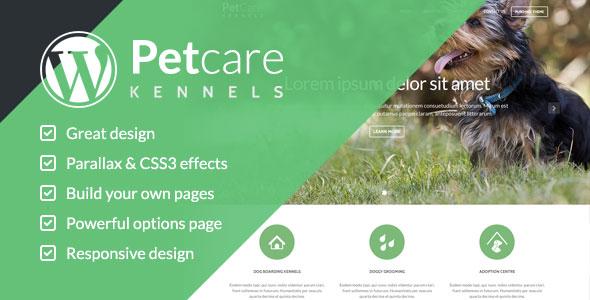 قالب وردپرس Pet Care برای سایت های حیوانات خانگی نسخه 1.2