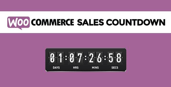 افزونه ووکامرس پیشنهاد ویژه زمان دار WooCommerce Sales Countdown