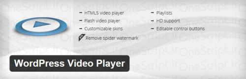 WordPress-Video-Player