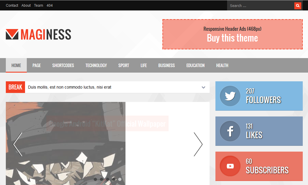دانلود-قالب-HTML-مجله-ای-Maginess-نسخه-۱٫۰