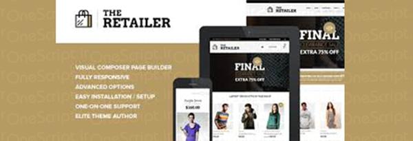 پوسته ووکامرس و فروشگاهی The Retailer فارسی