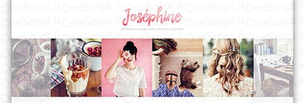 پوسته وردپرسی وبلاگ نویسی Josephine