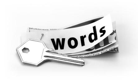 مخفی کردن کلمات کلیدی