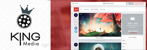 اسکریپت اشتراک گذاری چند رسانه ای King MEDIA فارسی نسخه ۱٫۹٫۹٫۲