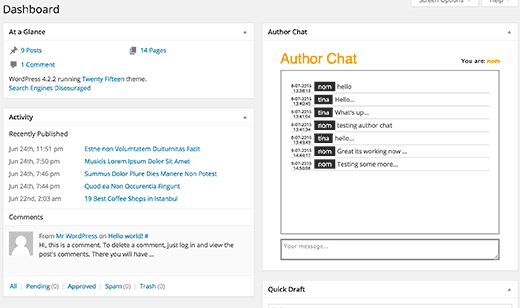 authorchat-dashboard