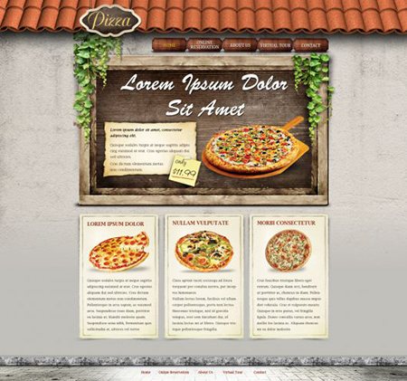 fastfood-free-psd-theme